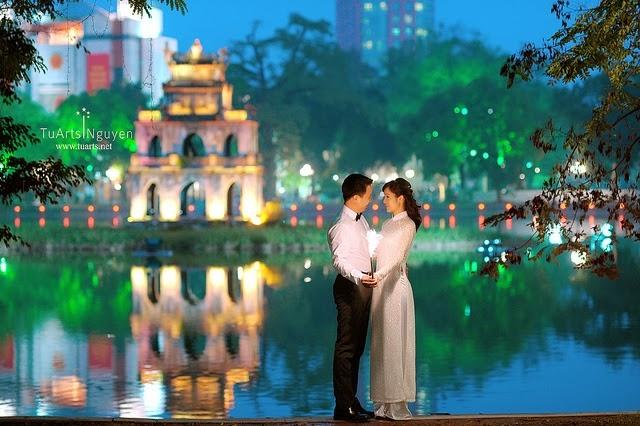 Top 7 Địa điểm chụp ảnh cưới đẹp nhất Hà Nội